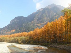 期間限定 秋の明神池&大正池ツアーで思いっきり深呼吸